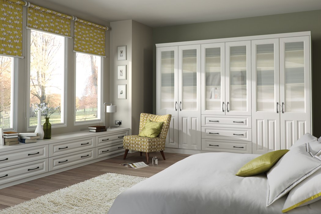 Bella Milano Super White Ash Bedroom