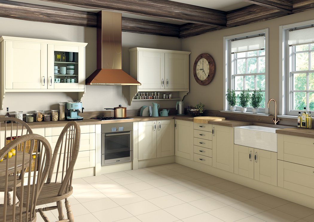 Pronto Ludlow Cream Kitchen