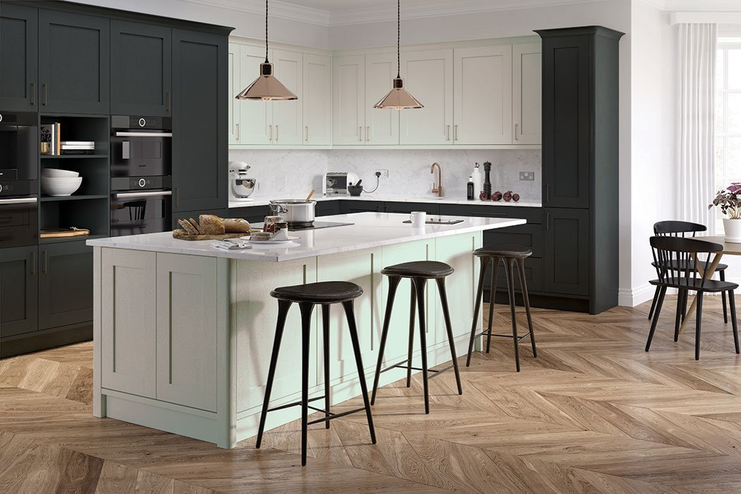 Pronto Hadley Graphite Kitchen