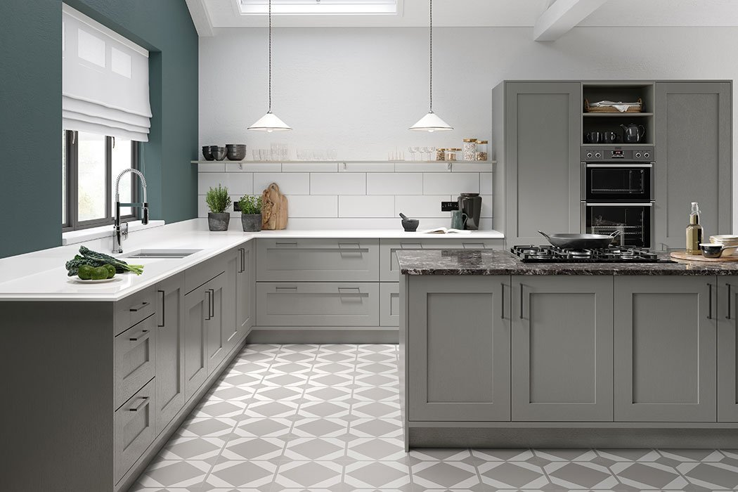 Pronto Hadley Dust Grey Kitchen