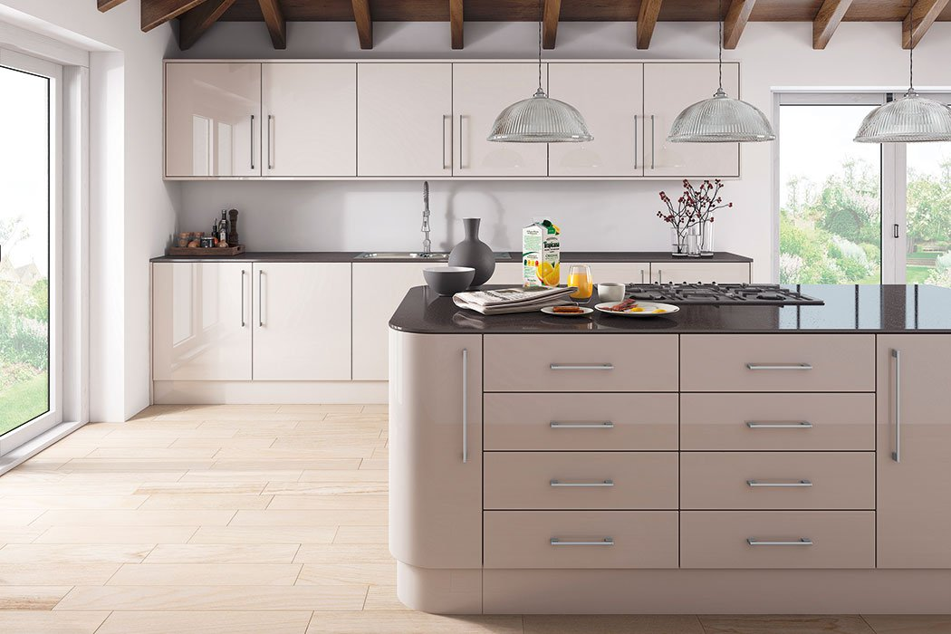 Zurfiz Ultragloss Cashmere Kitchen