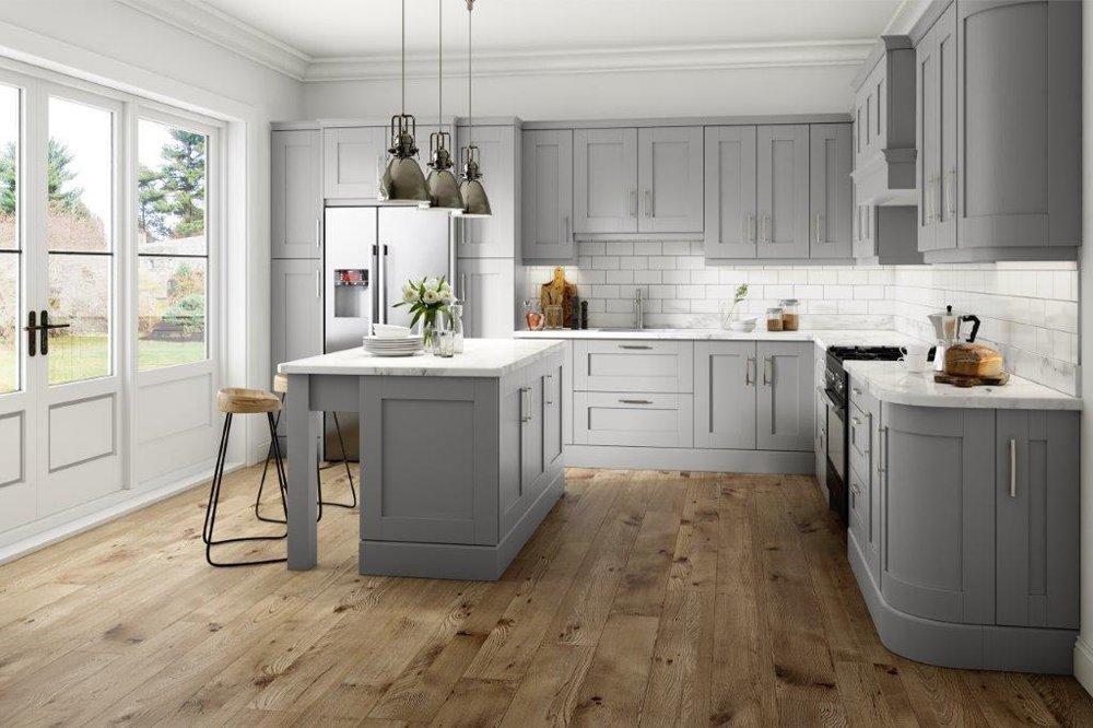 Harrow Light Grey Kitchen